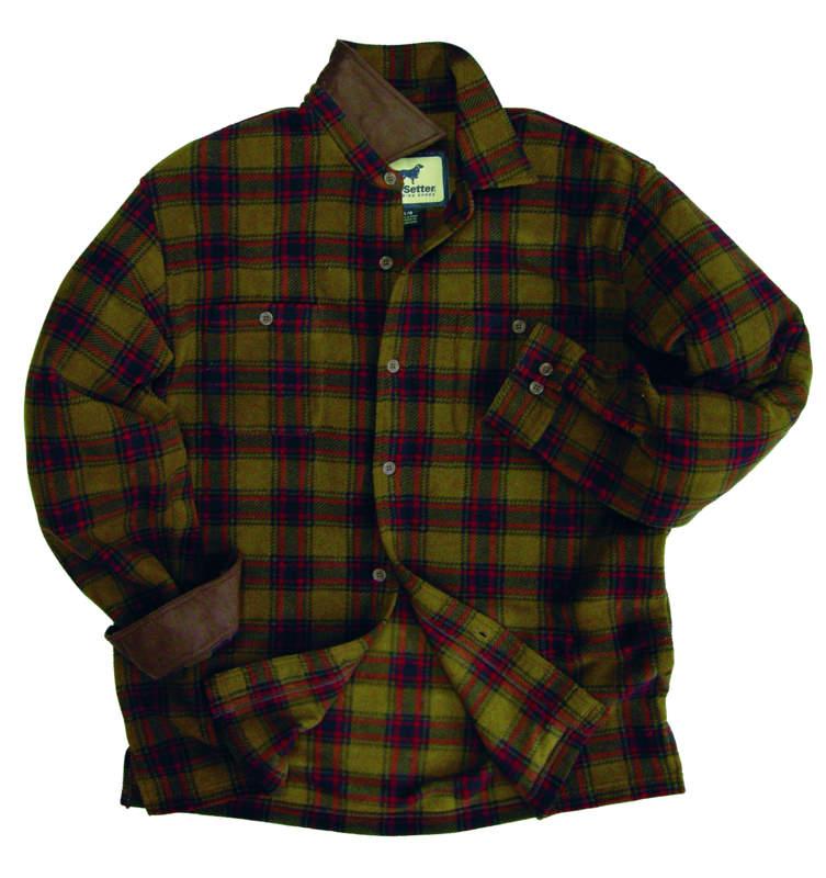 Irish Setter Brownsville Fleece Shirt