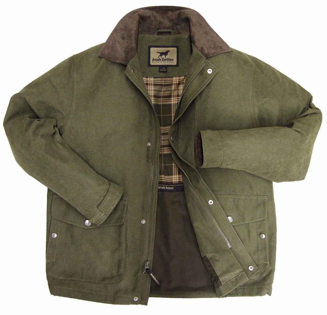 Irish Setter Apparel Jenkins Micro Oxford Jacket