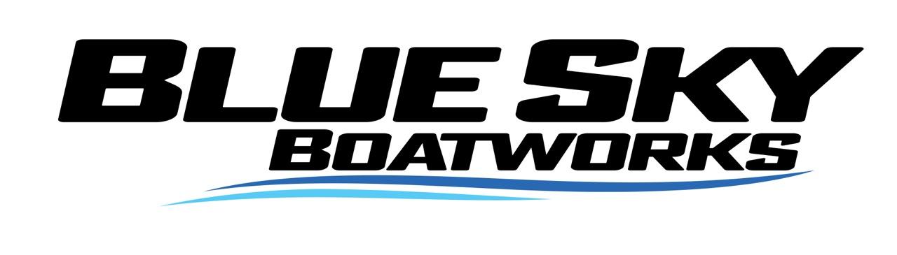 Blud Sky BW logo
