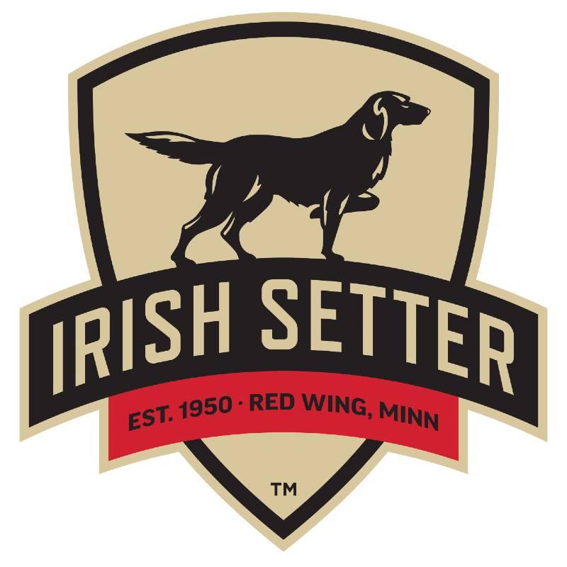 Irish Setter boots logo